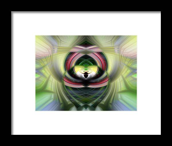 Heart Framed Print featuring the photograph Heart 14 - Yin by Dawn Eshelman
