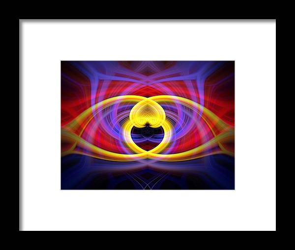 Heart Framed Print featuring the photograph Heart 16 - Yang by Dawn Eshelman