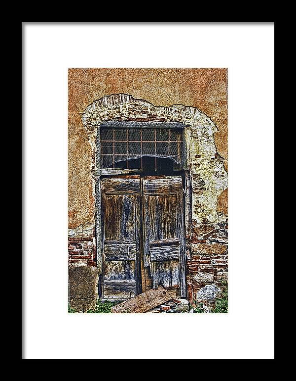 Landscape Photo Graph Framed Print featuring the photograph Heart Break Hotel by Tom Prendergast