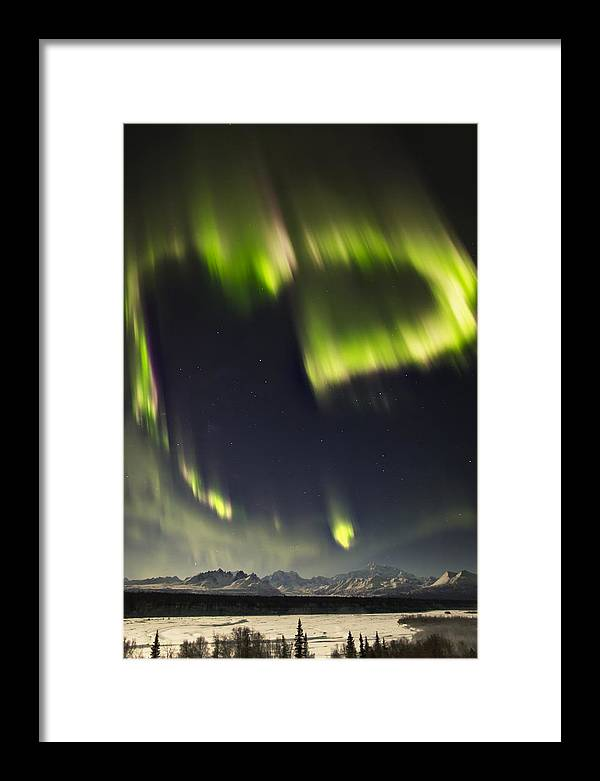 Alaska Framed Print featuring the photograph Heart Of Denali by Ed Boudreau