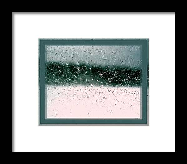 14 Framed Print featuring the photograph Heart Spattered by Linda Galok