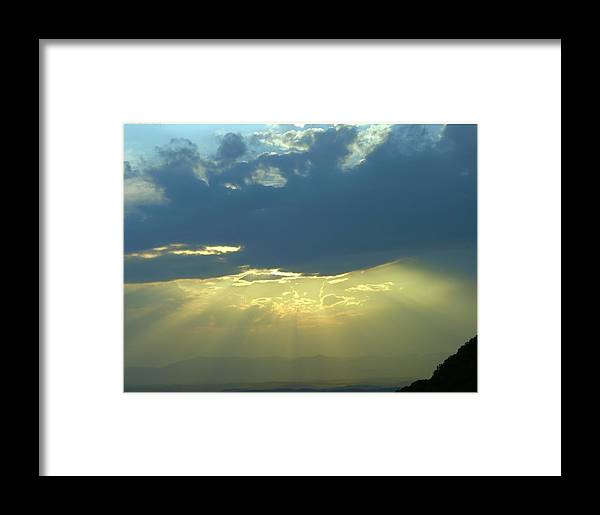 Sunset Framed Print featuring the photograph Heavanly Glow by John Geck