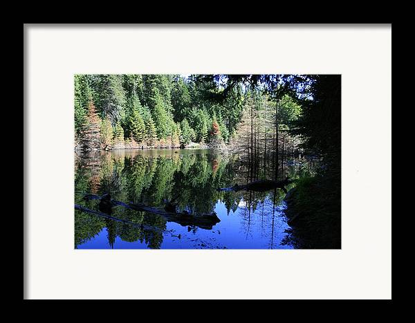 Landscape Framed Print featuring the photograph Heaven And Heaven by Alan Rutherford