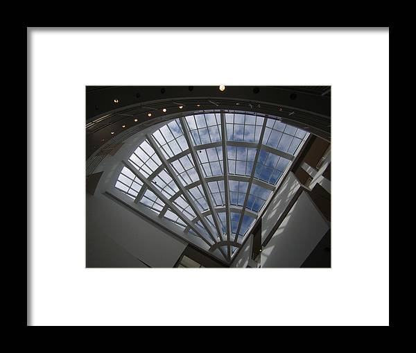 Photograph Framed Print featuring the photograph Heaven Awaits Inside The High Museum Of Art Atlanta by Linda Powell