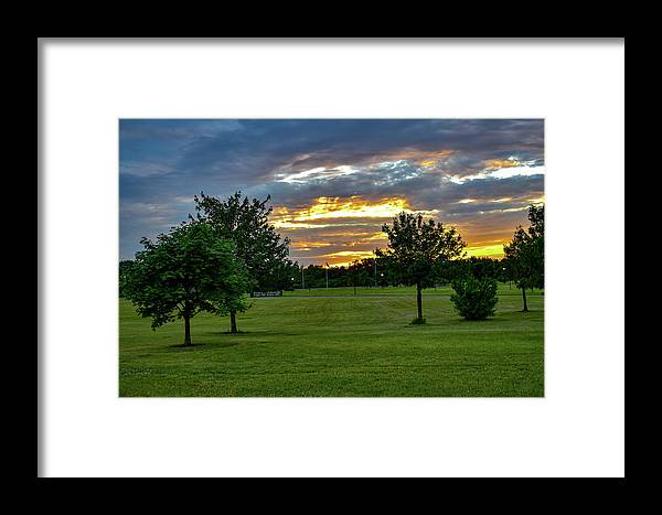 Sunset Framed Print featuring the photograph Heaven Sky by Jean C Rosario