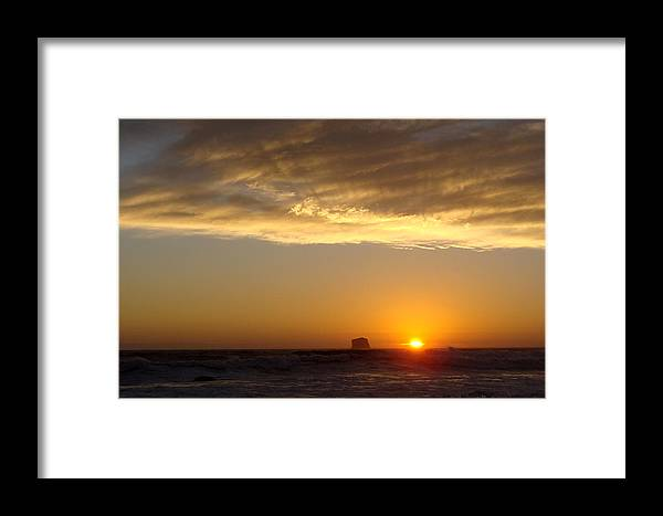 Sunset Framed Print featuring the photograph Heavenly Rays by Ty Nichols