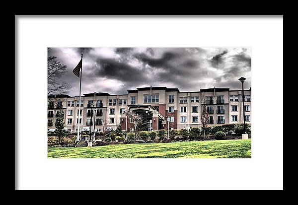 Heights Framed Print featuring the photograph Heights At Columbia Knolls by John Winner