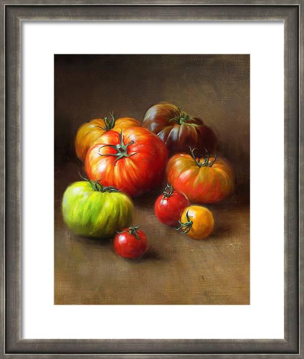 Heirloom Tomatoes by Robert Papp