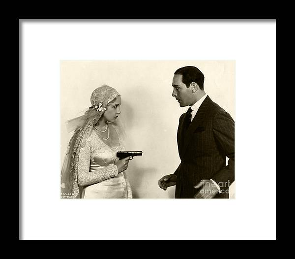 Helen Twelvetrees Ricardo Cortez Bad Company 1931 Framed Print by ...