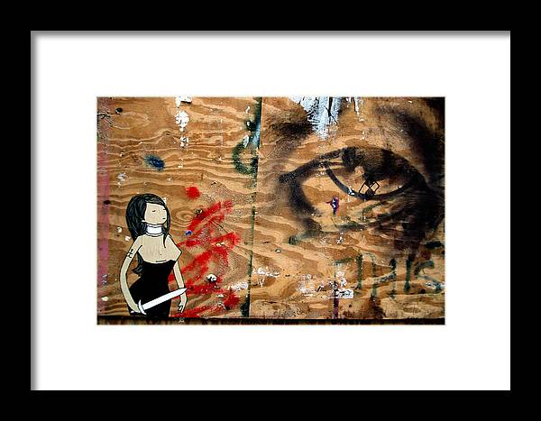 Jez C Self Framed Print featuring the photograph Hello Big Eyes by Jez C Self