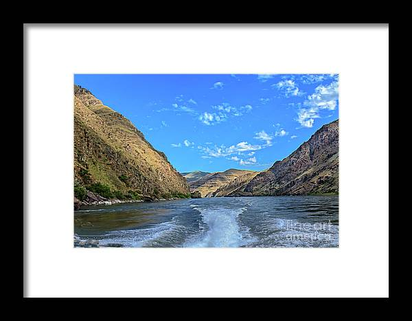 Nature Framed Print featuring the photograph Hells Canyon 01 by Robert Bales