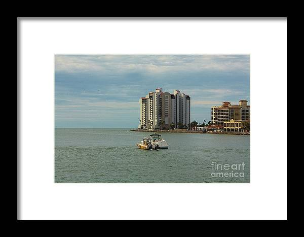 City Framed Print featuring the photograph Helping Hand by Lora Wood