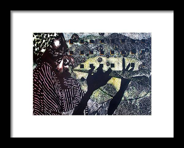 New Age Framed Print featuring the mixed media Herald of A New Age by Chester Elmore