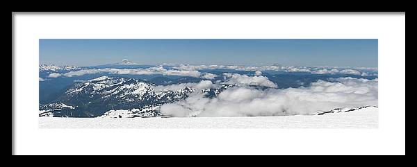 Landscape Framed Print featuring the photograph Here To Eternity by Mark Camp