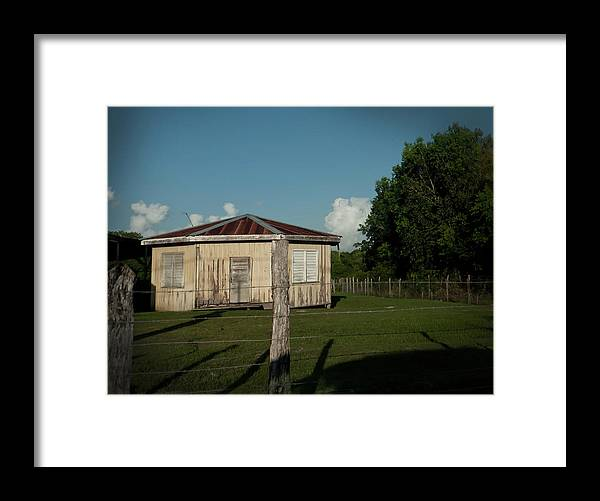Hezagon Framed Print featuring the photograph Hexagon House by Jessica Levant