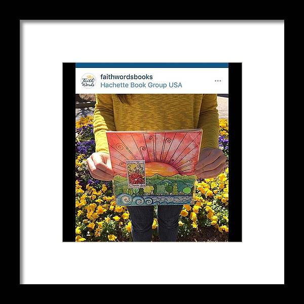Framed Print featuring the photograph Hey Everyone...for A Chance To Win This by Robin Mead