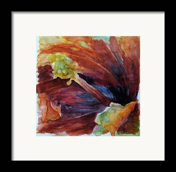 Floral Framed Print featuring the painting Hibiscus by Stephanie Allison