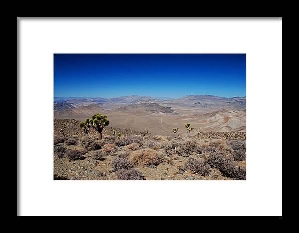 Desert Framed Print featuring the photograph Hidden Valley Daeth Valley National Park by Brian Lockett