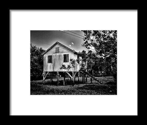 Stilt House Framed Print featuring the photograph High House by Jessica Levant