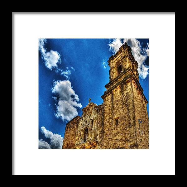 Age Framed Print featuring the photograph High Noon At The Bell Tower by Chas Sinklier