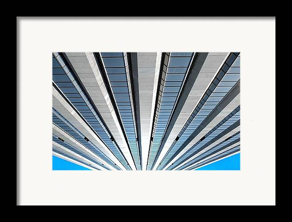 Archetecture Framed Print featuring the photograph High Rising by Dan Holm