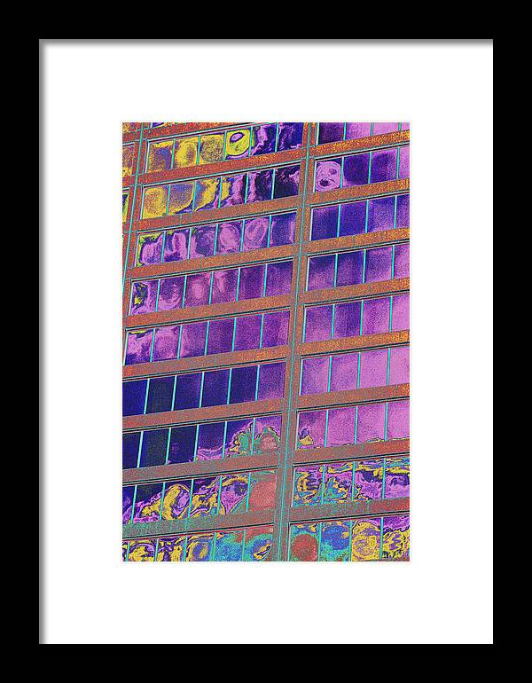 Psychedelic Framed Print featuring the photograph High Roller Suites At The Flamingo Hotel by Richard Henne