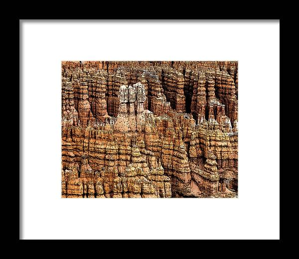 Bryce Canyon Framed Print featuring the photograph High Style Hoodoo by Rick Selin