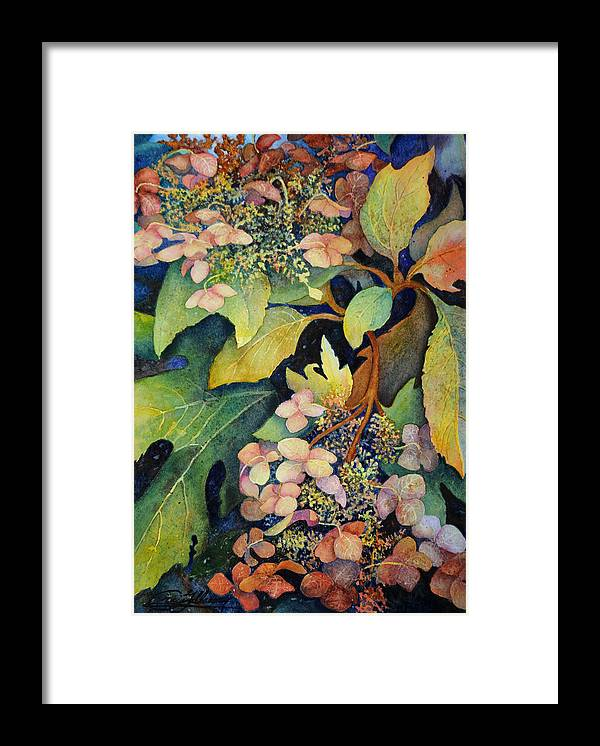Botanical Framed Print featuring the painting High Summer by Craig Gallaway