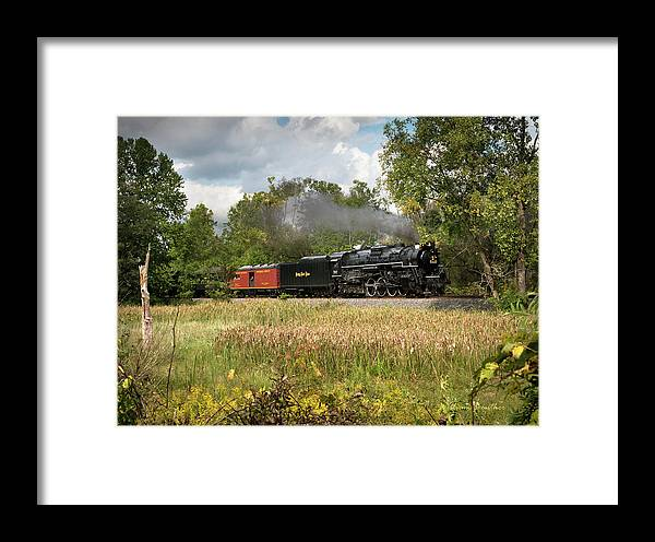 Landscapes Framed Print featuring the photograph Highballing by William Beuther