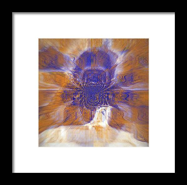 Fania Simon Framed Print featuring the drawing Highliight And Move By The Wind by Fania Simon