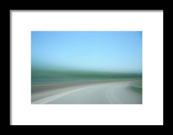 Motion Framed Print featuring the photograph Highway To Heaven by Hans Kool