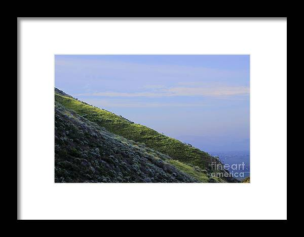 Country Framed Print featuring the photograph Hill In Riverside by Viktor Savchenko