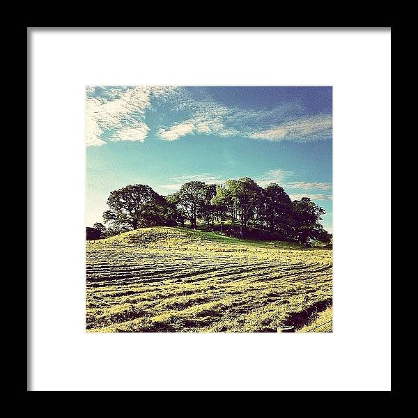 Beautiful Framed Print featuring the photograph #hills #trees #landscape #beautiful by Samuel Gunnell
