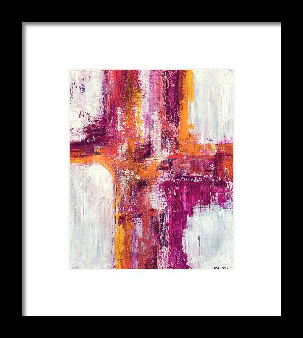 Canvas Print Framed Print featuring the painting His Shed Blood by K Batson Art