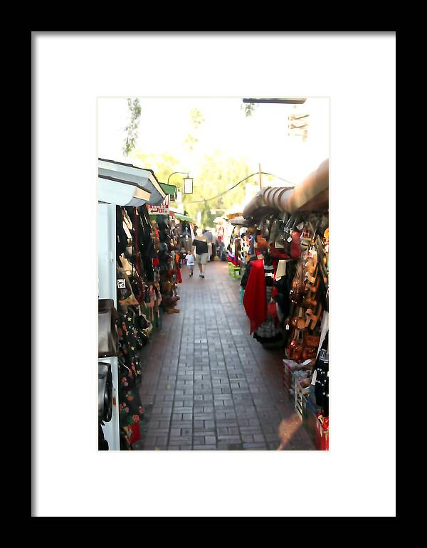 Market Framed Print featuring the photograph Hispanic Market 0663 by Edward Ruth