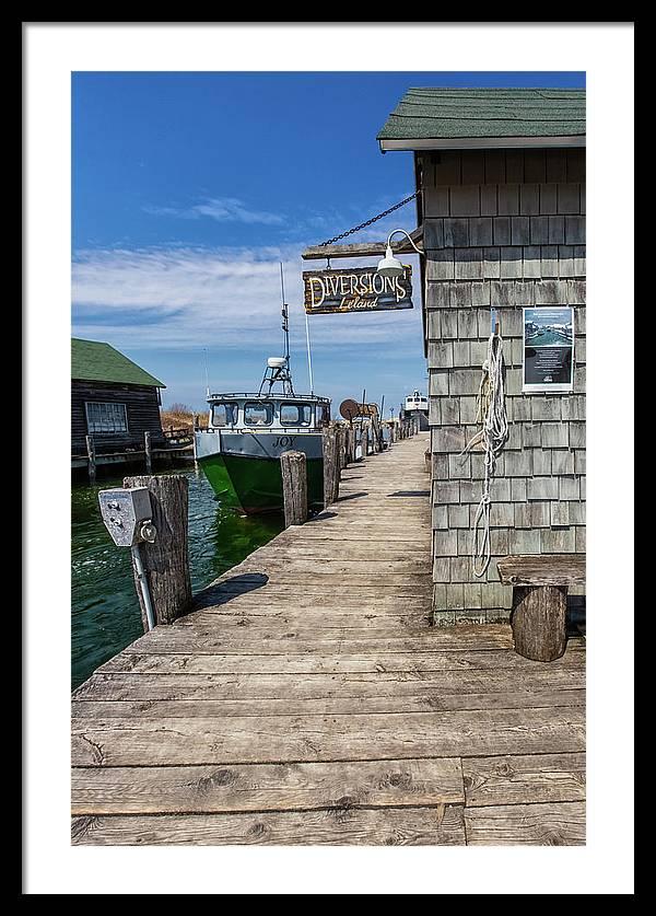 Historic Fishtown 12 by Heather Kenward