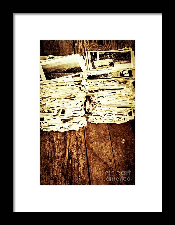Photographs Framed Print featuring the photograph History In Photos by Jorgo Photography - Wall Art Gallery