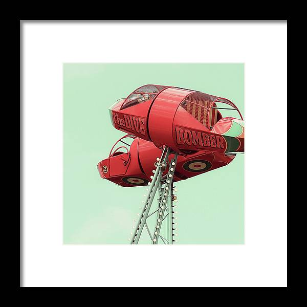 Funfair Framed Print featuring the photograph Hold On by Debra Cox