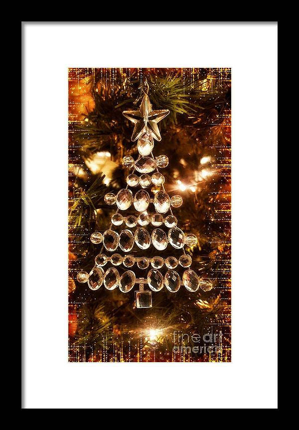 Holiday Framed Print featuring the photograph Holiday Shine 1 by Rachel Hannah
