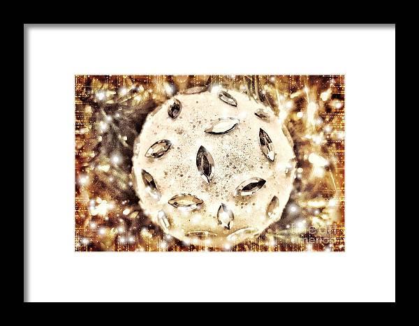 Holiday Framed Print featuring the photograph Holiday Sparkle by Rachel Hannah