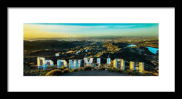 Los Angeles Framed Print featuring the photograph Hollywood Dreaming by Az Jackson