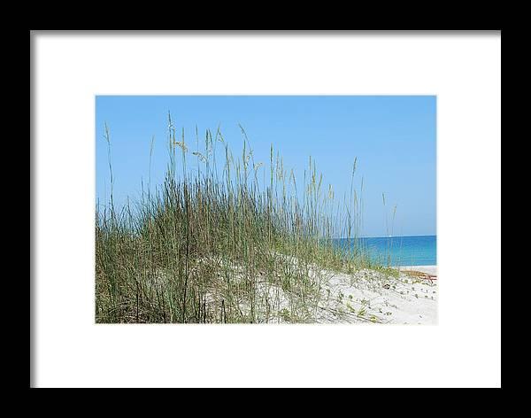 Beach Framed Print featuring the photograph Holmes Beach Florida by Lisa Gabrius