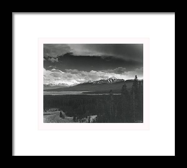 Landscape Framed Print featuring the photograph Homage To Ansel by Jim Furrer