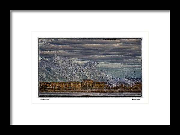 Cuba Framed Print featuring the photograph Homage To Hokusai by R Thomas Berner