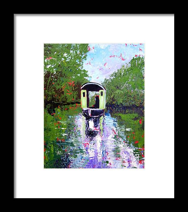 River Framed Print featuring the painting Homage To Monet by Paul Sandilands