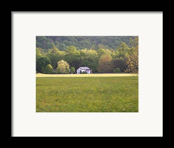 Nature Framed Print featuring the photograph Home by Jessica Burgett