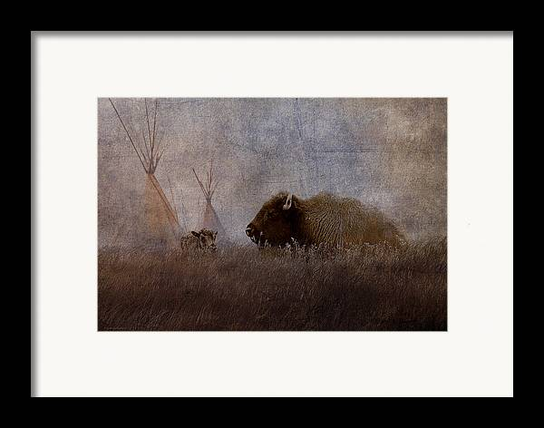 Ron Jones Framed Print featuring the photograph Home On The Range by Ron Jones