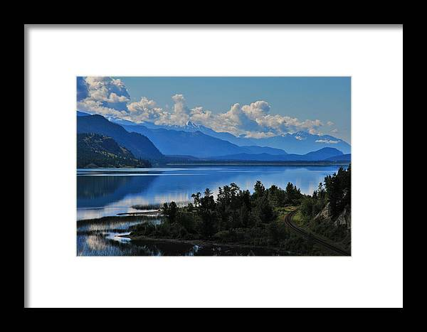 Landscape Framed Print featuring the photograph Home Sweet Home by Taylor Howe