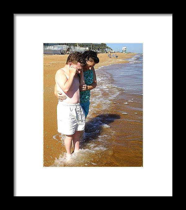 Mother Framed Print featuring the photograph Honey You Need Some Sun by Scarlett Royal