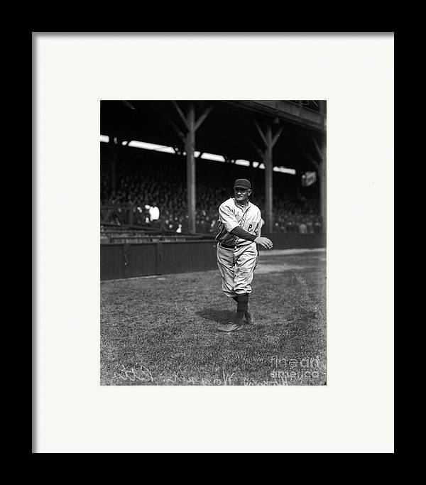Baseball Framed Print featuring the photograph Honus Wagner - Pittsburgh Pirates by David Bearden